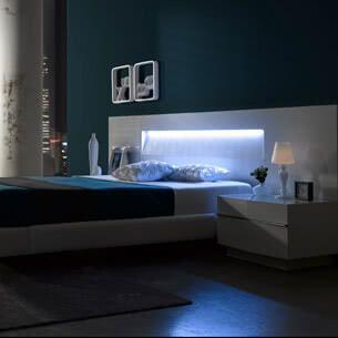 Dormitorio dise o moderno muebles belhome - Dormitorio diseno moderno ...