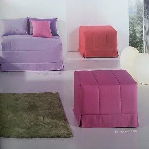 Puff convertibles en cama muebles belhome - Puff convertible en cama ...