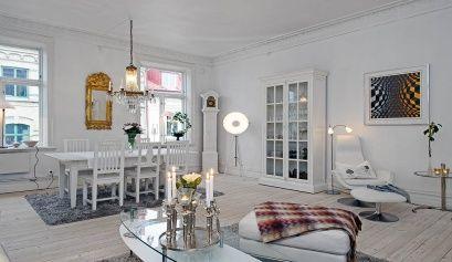 Tendencias de estilo n rdico para decorar el sal n - Salones estilo nordico ...