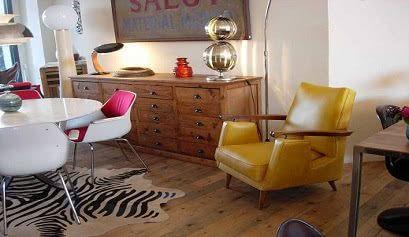 imagen 81 - Mobiliario y decoración vintage - noticias, blog   Muebles en Granada