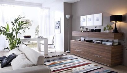Tendencias de estilo moderno para decorar el sal n for Como decorar un salon moderno