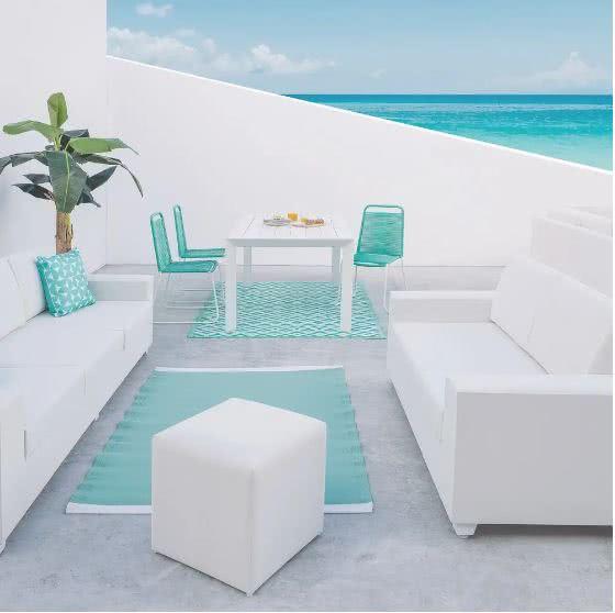 ambiente jardin 1 - Cómo decorar porches y terrazas - noticias, blog | Muebles en Granada