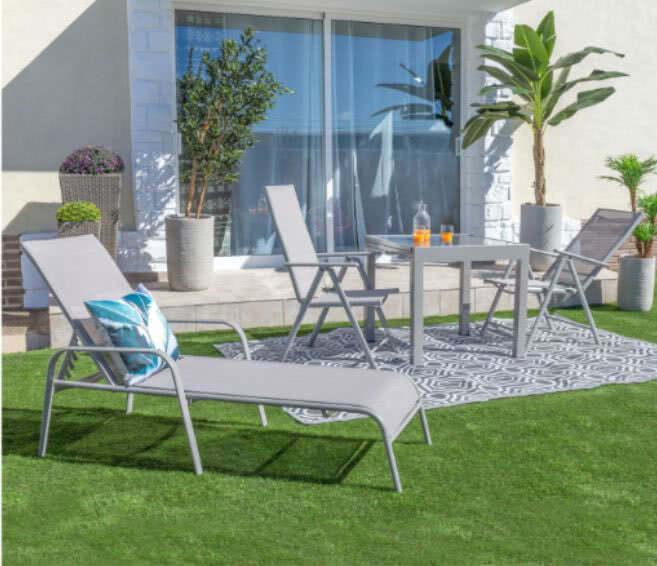 ambiente jardin - Cómo decorar porches y terrazas - noticias, blog | Muebles en Granada
