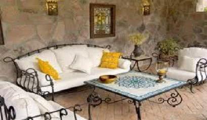 C mo decorar porches y terrazas muebles belhome - Como decorar un porche abierto ...