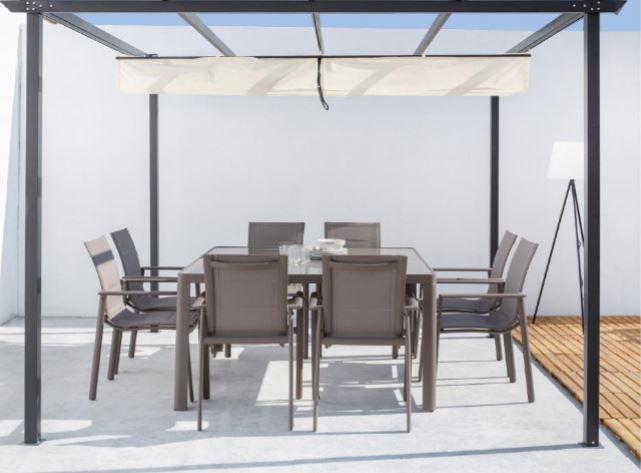 mesa y sillas porche - Cómo decorar porches y terrazas - noticias, blog | Muebles en Granada
