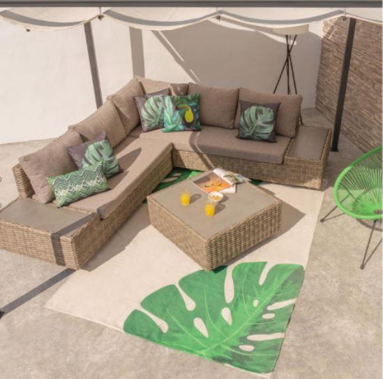 rinconera porche - Cómo decorar porches y terrazas - noticias, blog | Muebles en Granada
