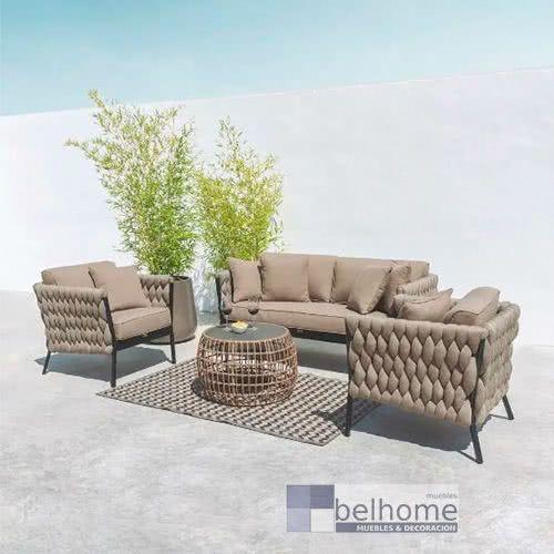sofa rebecca ambiente - Cómo decorar porches y terrazas - noticias, blog | Muebles en Granada