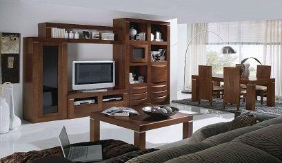 Muebles estilo colonial moderno simple casa decorada - Salones estilo colonial moderno ...