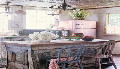 Decoraci n de estilo shabby chic muebles belhome - Cocinas estilo shabby chic ...