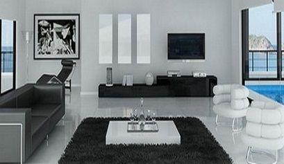 salones minimalistas en blanco y negro 06 480x195 - Salones de estilo minimalista i - noticias, blog | Muebles en Granada