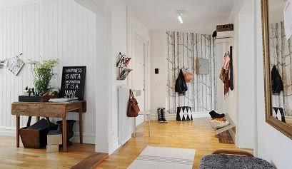 hall nordico 8 - Vestíbulos de estilo nórdico - noticias, blog | Muebles en Granada