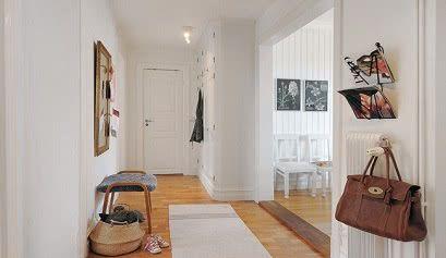 hall nordico 9 - Vestíbulos de estilo nórdico - noticias, blog | Muebles en Granada