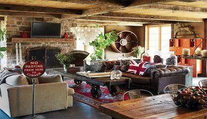 8700782 - Ideas para la decoración de salones rústicos - noticias, blog | Muebles en Granada
