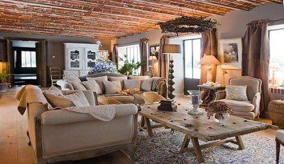 Ideas para la decoraci n de salones r sticos muebles belhome muebles belhome - Decoracion de salones rusticos ...
