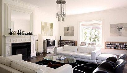 kingston hill 01 - Decoración de salones modernos con chimenea - noticias, blog | Muebles en Granada