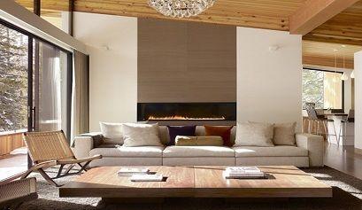 Decoraci n de salones modernos con chimenea muebles belhome - Decoracion de salones modernos ...