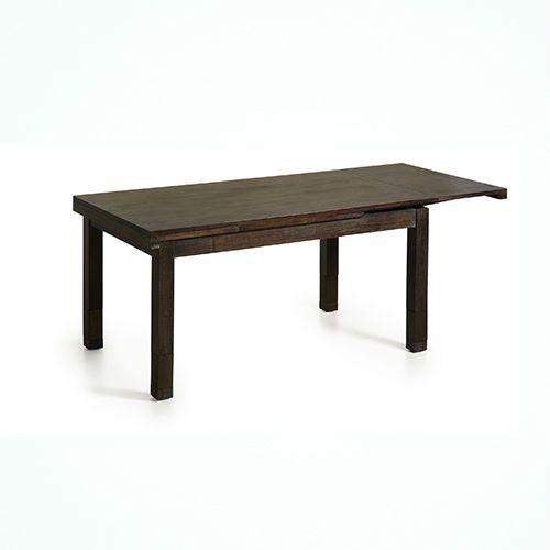 Mesa de comedor extensible industrial muebles belhome for Mesa comedor industrial extensible