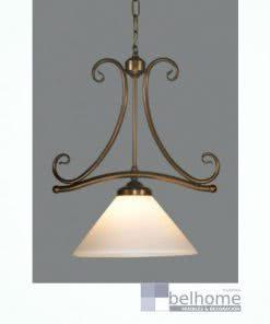 Lámpara Calisto anticuario 1 luz