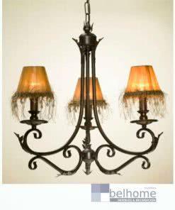 Lámpara Hojas 3 luces