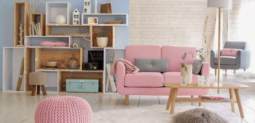 Image result for muebles color pastel