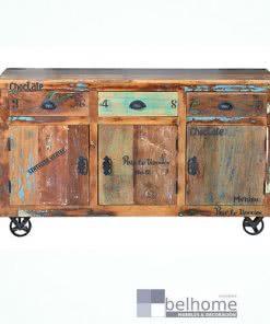 Aparador en madera reciclada 6296