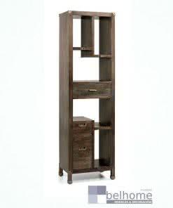 Librería industrial con 3 cajones