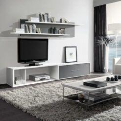 Apilable New PORTLAND Blanco Pizarra 247x247 - Muebles belhome -  | Muebles en Granada