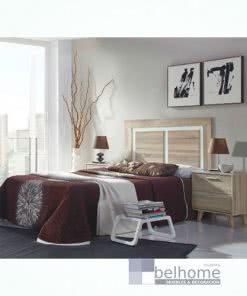 Dormitorio de matrimonio nórdico