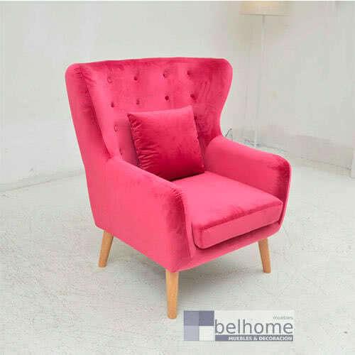 butaca yaffa fucsia - Butaca yaffa - sillones, los-mas-vendidos | Muebles en Granada