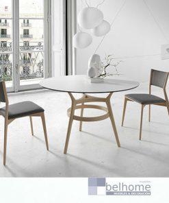 mesa de comedor redonda Leger