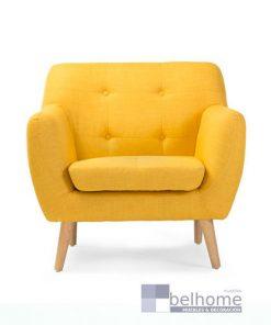 sillon nordic vintage amarillo 247x296 - Sillon nordic vintage - sillones | Muebles en Granada