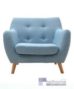 sillon nordic vintage azul claro 247x296 - Sillon nordic vintage - Azul claro -    Muebles en Granada