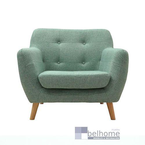 sillon nordic vintage cesped - Sillon nordic vintage - sillones | Muebles en Granada