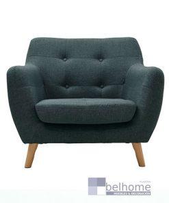 sillon nordic vintage verde 247x296 - Sillon nordic vintage - Verde oscuro -    Muebles en Granada