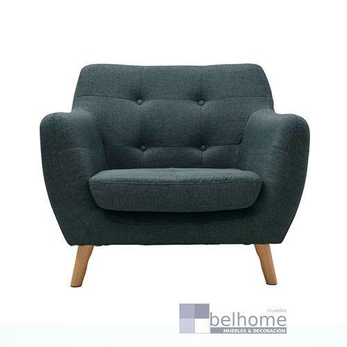 sillon nordic vintage verde - Sillon nordic vintage - sillones | Muebles en Granada