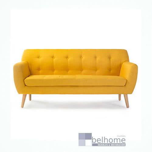 sofa nordic vintage amarillo - Sofa nordic vintage - sofas, novedades | Muebles en Granada