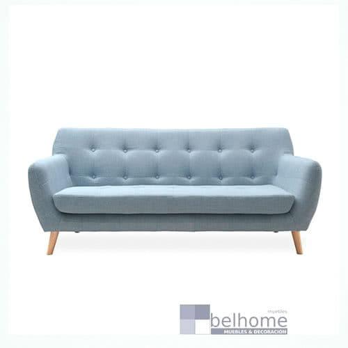 sofa nordic vintage azul claro - Sofa nordic vintage - sofas, novedades | Muebles en Granada