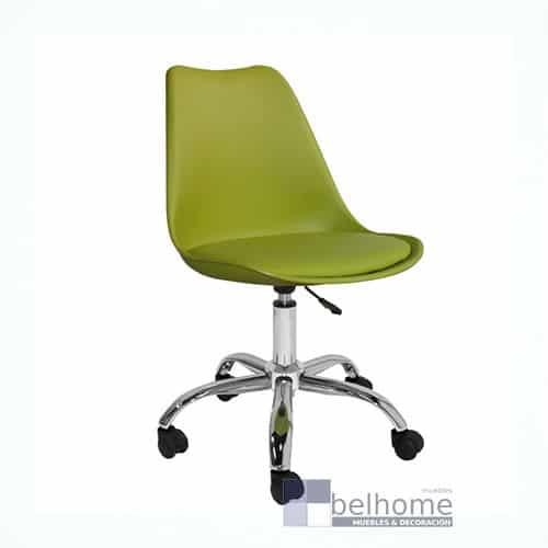 silla megan escritorio verde - Silla megan escritorio - sillas-de-oficina | Muebles en Granada