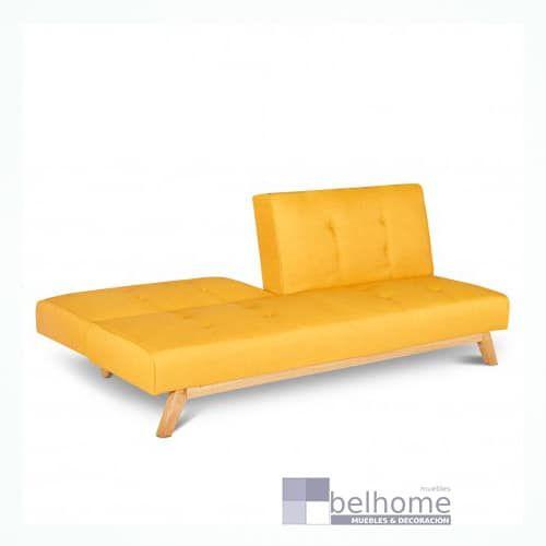 sofa cassi amarillo abierto - Sofa cama Alina - sofa-cama | Muebles en Granada