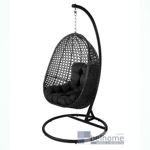 sillon colgante dido negro - Sillón colgante Dido - sillon, novedades | Muebles en Granada