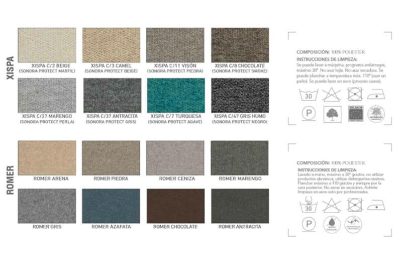 colores sofas - Sofá cama Lotus - sofa-cama, nuestras-ofertas | Muebles en Granada