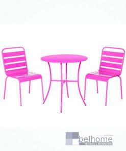 Conjunto vega 2 sillas + mesa