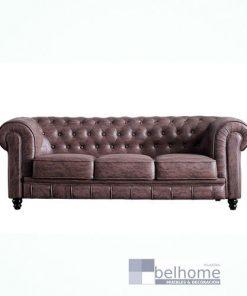SOFÁ CHESTERFIELD 3 plazas chocolate vintage 247x296 - Sofá chesterfields - sofas, novedades | Muebles en Granada