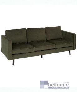 Sofá tres plazas teciopelo gris oscuro 247x296 - Muebles en Granada -  | Muebles en Granada