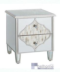 mesita de noche plata 247x296 - Muebles en Granada -  | Muebles en Granada