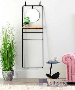 perchero con espejo colgado en la pared en un ambiente decorado 247x296 - Muebles en Granada -  | Muebles en Granada