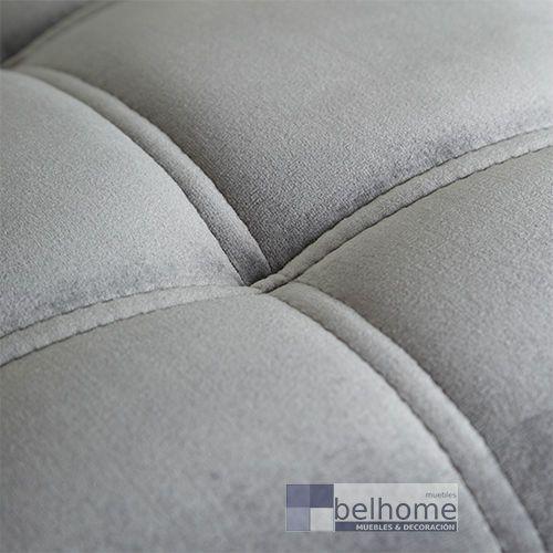 Sillón gris tejido