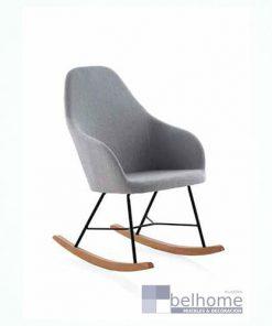 Sillón balancín color gris 247x296 - Muebles en Granada -    Muebles en Granada