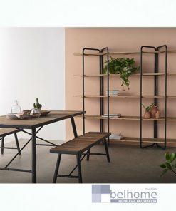 Mesa de comedor tapa madera