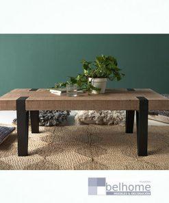mesa de centro de hierro y madera  247x296 - Muebles en Granada -  | Muebles en Granada